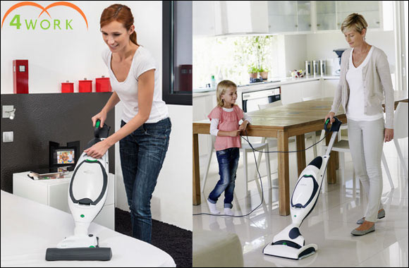 Introducing your home's new best friend Kobold by Vorwerk vacuum cleaner: 4work's new state of the art vacuum cleaners and enjoy a cleaner, healthier home