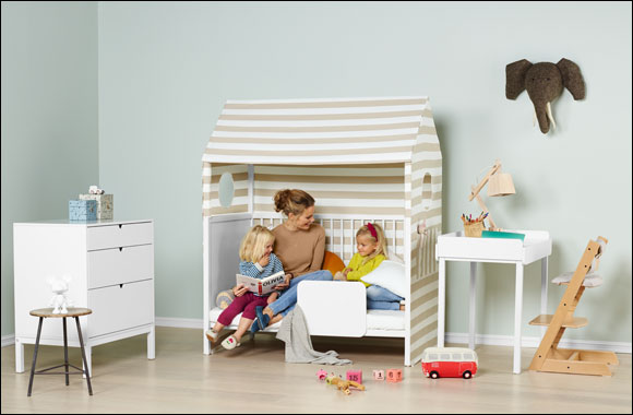 Home is where the heart is. Stokke® Home™ The little nursery with big possibilities