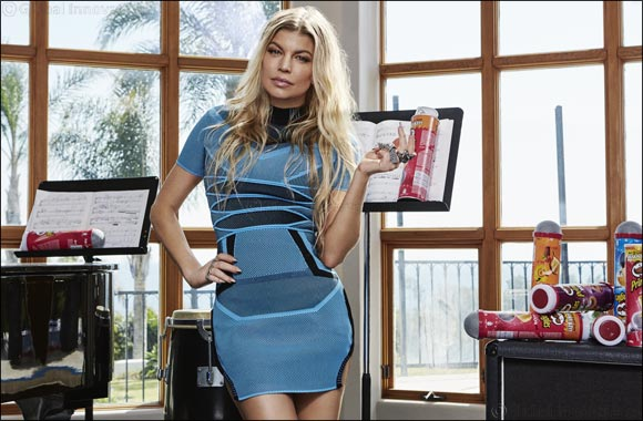 Fergie teams up with Pringles as she plots comeback this summer