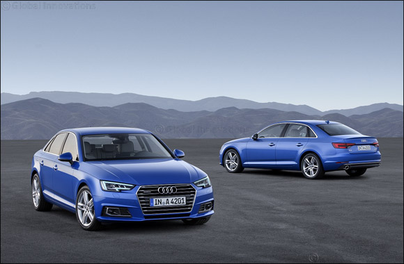The winning four – the new-generation Audi A4