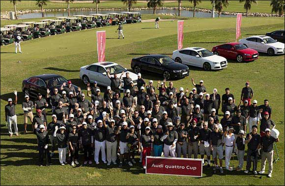 Audi quattro Cup tournament driven by Kuwait's amateur golfers