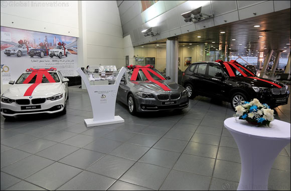 Ali Alghanim & Sons' gives away 12 BMW vehicles in celebration of its 30th anniversary as Kuwait's exclusive BMW importer