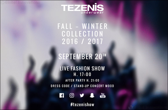 20 SEPTEMBER: TEZENIS FASHION SHOW Capsule Collection Preview #RITAORAXTEZENIS