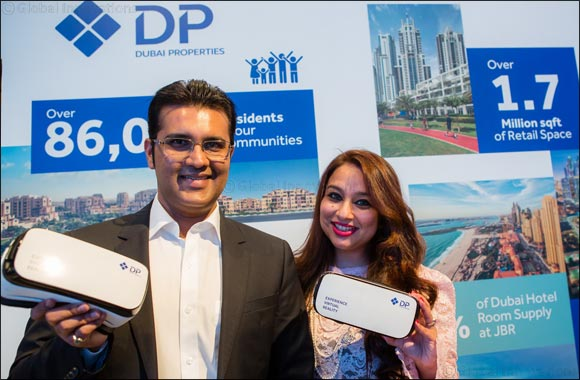 Dubai Properties' Virtual Reality tour of master-planned destinations becomes a firm favourite for visitors at Cityscape Global 2016