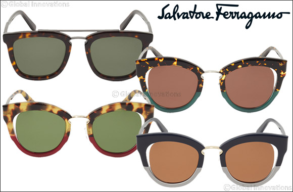 Salvatore Ferragamo eyewear - A sophisticated aesthetic with modern style.