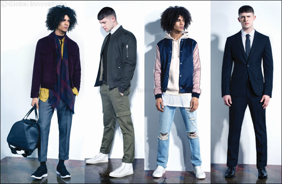 New Look Men implements key seasonal trends into its AW16 Collection to create a line that is simmering with masculine appeal