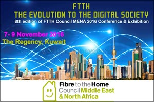 FTTH MENA Council 8th Annual Conference to discuss the Fibre to the Home adoption in Kuwait and the  ...