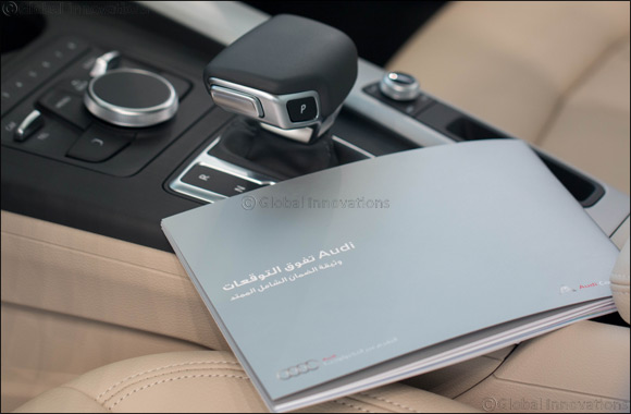 Audi Kuwait offers owners complete peace of mind with extended service and maintenance options.