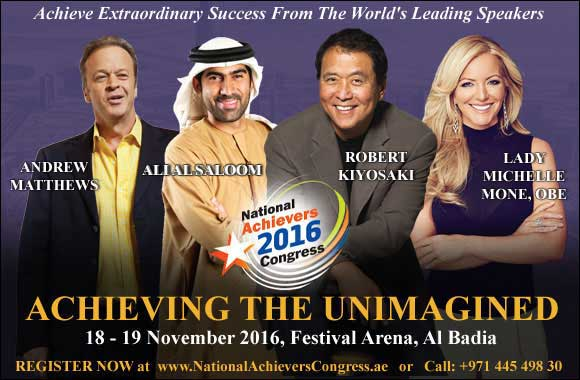 The National Achievers Congress Set to inspire the Middle East - Held for the first time in the region