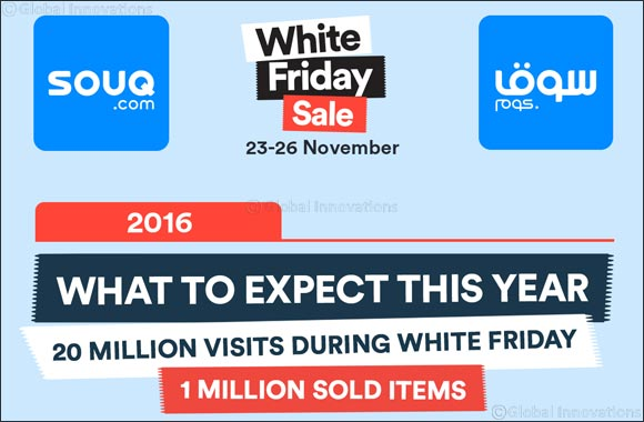 SOUQ.com Announces the Best Deals for WHITE FRIDAY 2016