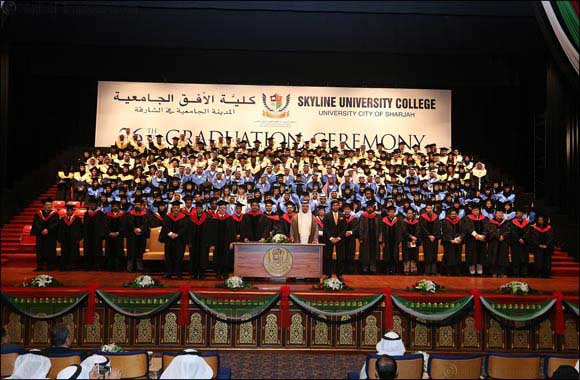 Skyline University College (SUC) graduates consisted of 30 nationalities at the 26th Graduation Ceremony