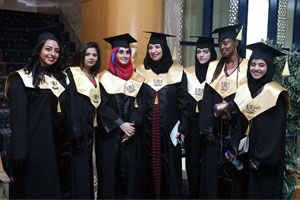 Skyline University College (SUC) graduates consisted of 30 nationalities at the 26th Graduation Cere ...