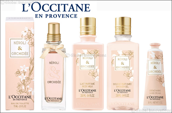 L'Occitane launches the NÉROLI & ORCHIDÉE for Valentine's Day