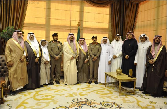 Prince Faisal Bin Khalid Honors Al- Jazeera Paints on the Day of Civil Defense