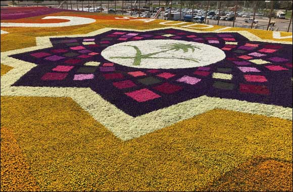 Royal Commission of Jubail & Yanbu Reclaim the Guinness World Record Title for 'Largest Carpet of Flowers