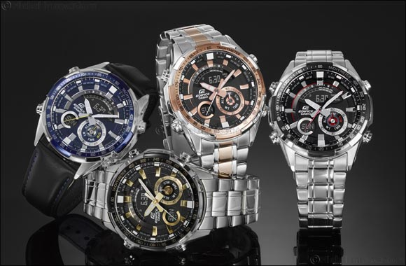 Casio announces KSA launch of motorsports inspired Edifice ERA-600