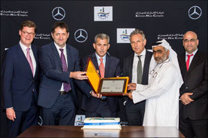 Daimler Commercial Vehicles MENA and EMC deliver 27 Mercedes-Benz Zetros trucks to Suhail Al Mazroui ...