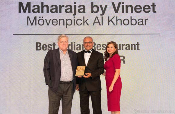 Mövenpick Hotel Al Khobar's Maharaja by Vineet scoops 'Best Indian Restaurant' accolade at Food & Travel Arabia GCC Awards