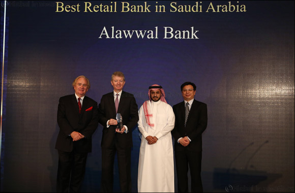 Alawwal bank wins 'Best Retail Bank' in Saudi Arabia at the Asian Banker awards