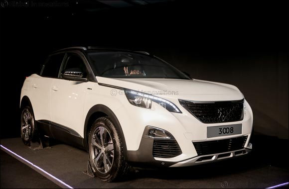 'The all-new PEUGEOT 3008 CUV makes Middle East debut'