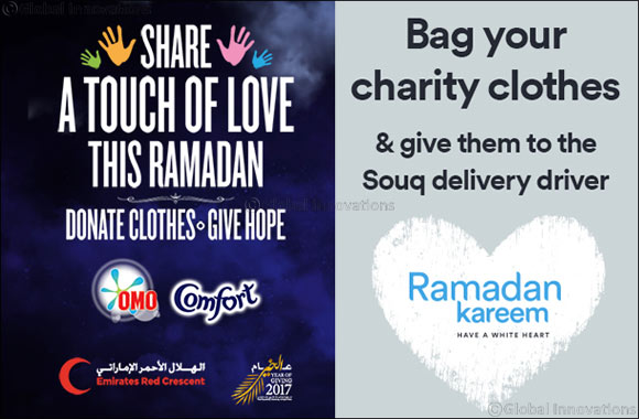 SOUQ.com offers Free Shipping and a helping hand to customers to donate during Ramadan