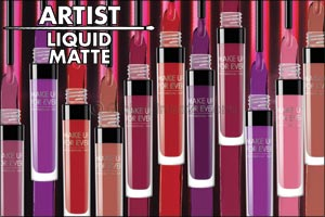 Make a Statement with MAKE UP FOR EVER's New Artist Liquid Matte Lipsticks