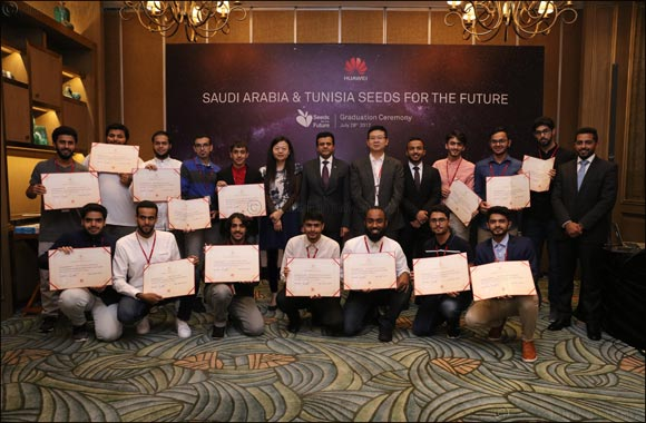 Top Saudi Students Complete Huawei's ICT Program in China