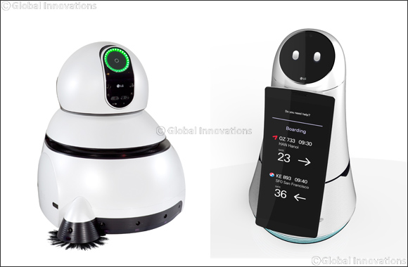 LG Robots to Connect People for A Better Tomorrow