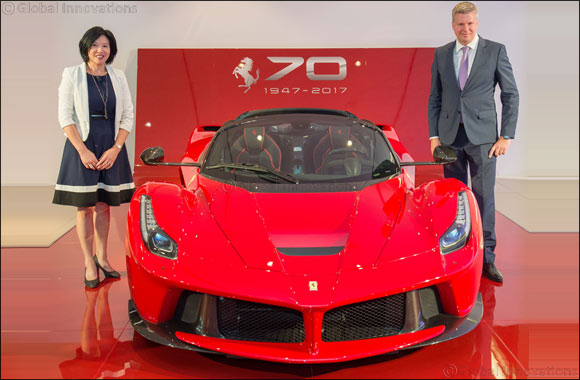 Al Tayer Motors to Celebrate Ferrari's 70th Anniversary in the UAE