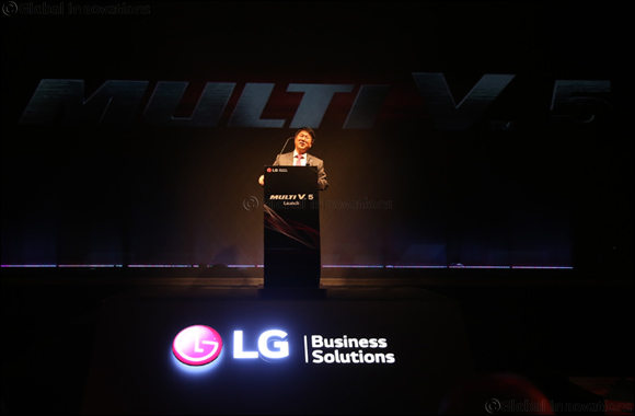 LG Multi V 5 VRF With Ultimate Inverter Compressor Launched in the UAE