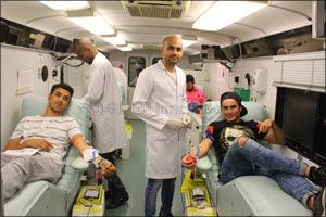 Skyline University College Blood Donation Camp 2017