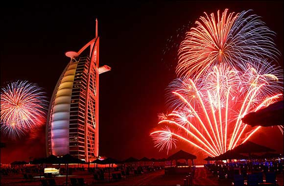 Dubai Wins Red Diamond Award for World's Greatest New Year's Celebration!