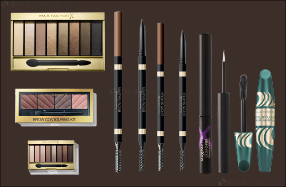 Master the Art of Brow Contouring and Perfect the Smudged Smokey Eye Look with Max Factor's Eye Studio