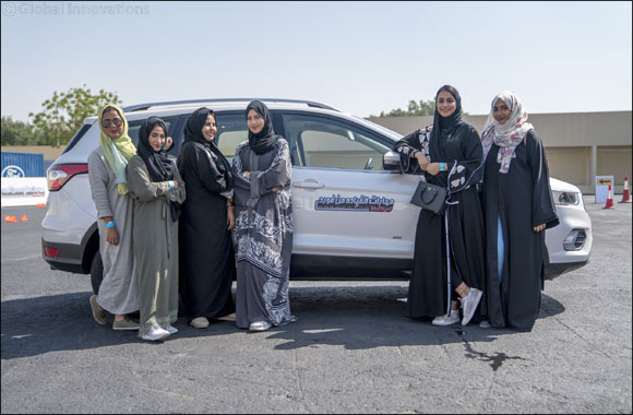 Ford and Effat University Further Women Empowerment Efforts with Global Debut of Ford Driving Skills for Life for Her in Saudi Arabia on International Women's Day
