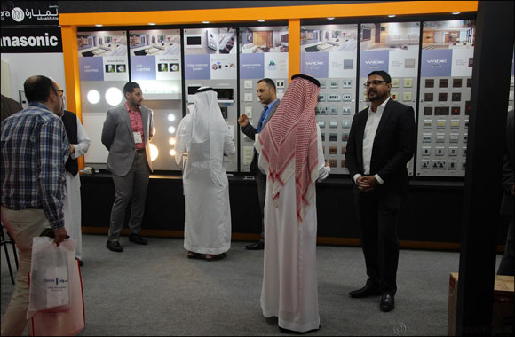 Panasonic Launches LED Lighting in Saudi Market & Showcases Wide Range of Wiring Devices and Electrical Solutions at Big 5 Saudi