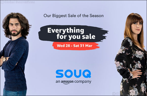 SOUQ 'Everything For You Sale' Offers Customers Thousands of Deals