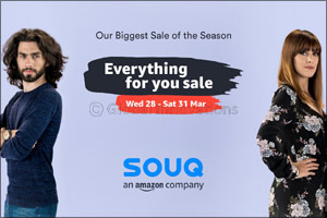 SOUQ �Everything For You Sale' Offers Customers Thousands of Deals