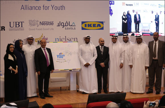 Alliance for Youth Launches in Saudi Arabia, Plans to Impact 50,000 Youth and Employ 3,000 by 2020