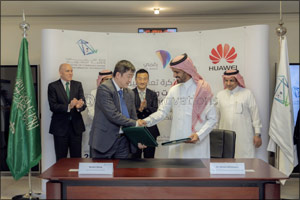 Saudi Arabia's Ministry of Communications and Information Technology and Huawei sign new MoU