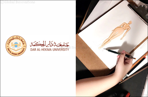 Dar Al-Hekma grants free scholarship to a talented student after seeing her fashion design works on Twitter