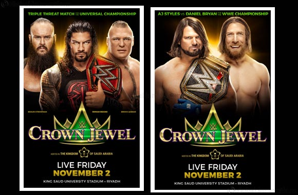 WWE ® Championship Match Set for Crown Jewel