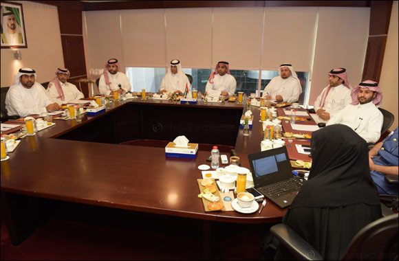 Jeddah Airport delegation applauds Dubai Customs' experience in facilitating travel and maintaining security