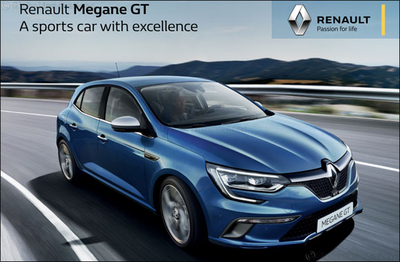 Drive off with the Renault Megane GT!