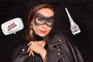 Halloween �Catwoman� mask using BROW products
