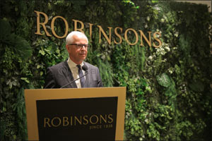 Luxury Fashion Store Robinsons Opens Its First Store in Saudi Arabia