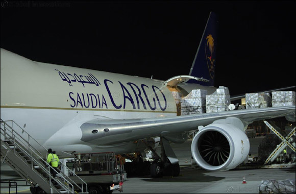 "Saudia Cargo brings in WWE ""Crown Jewel"" event equipment to the Kingdom"