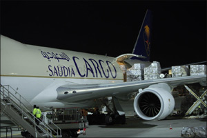 Saudia Cargo brings in WWE �Crown Jewel� event equipment to the Kingdom
