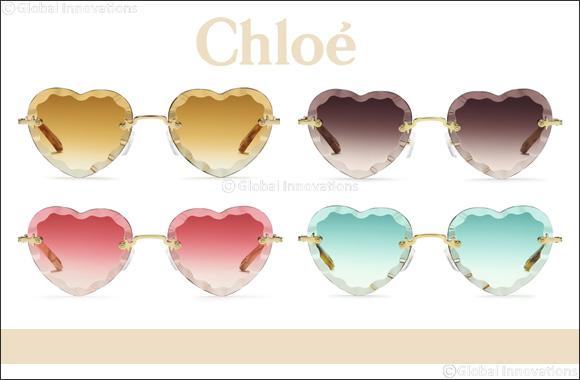 "Chloé Eyewear's Feminine Appeal Seen Through the Lens of the New ""Rosie"" Style"