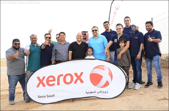 Xerox Saudi Arabia Participates in Riyadh Sustainability Initiative; Plants 200 Trees