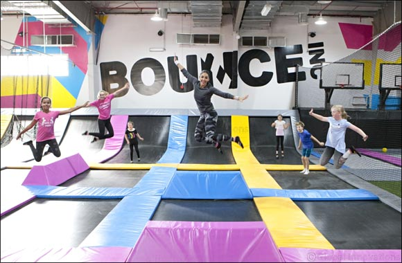 World's first female only trampoline park BOUNCE opens in Riyadh